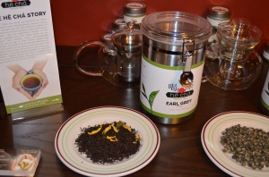 Earl Grey Canister & Display Plate